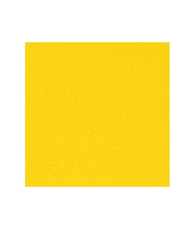 feuille feutrine  21x29.7cm jaune vif