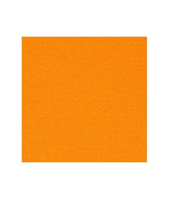 feutrine orange pale 21cm x 29.7cm