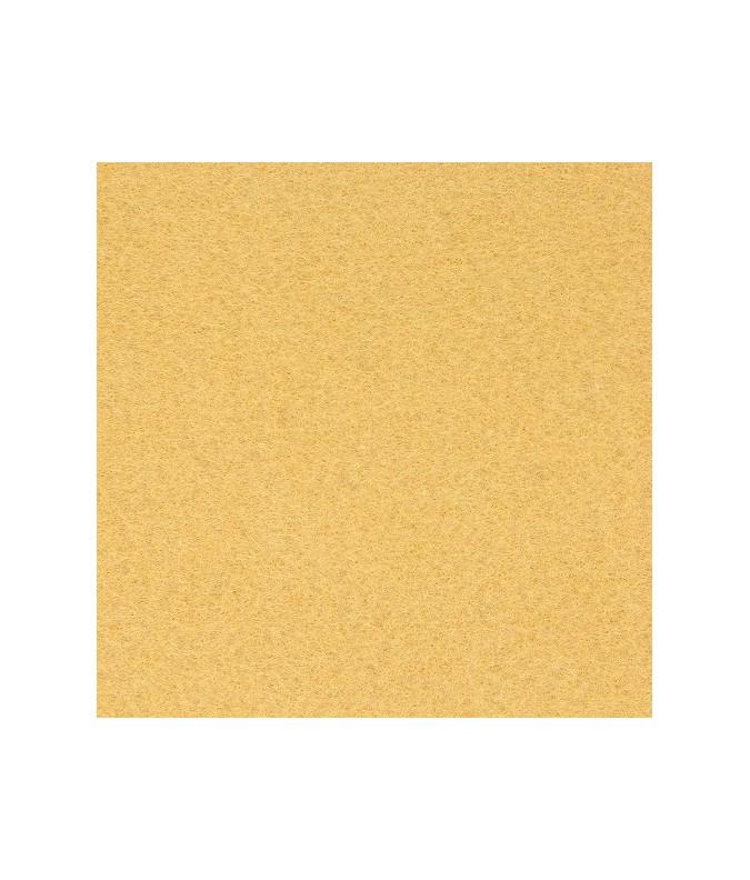 feuille feutrine  21x29.7cm jaune pale