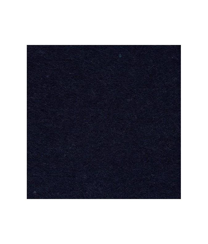 feuille feutrine  21x29.7cm bleu marine