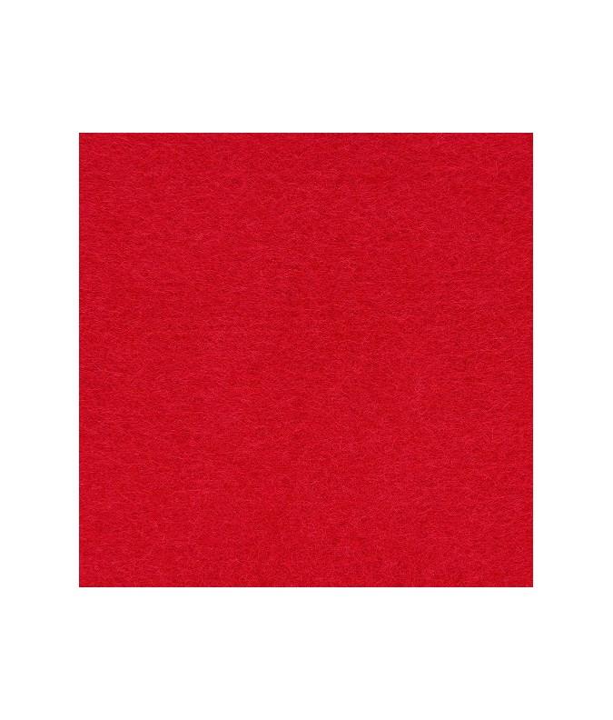 feuille feutrine  21x29.7cm rouge