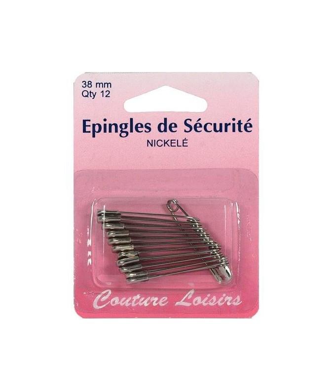 épingle de securité 38mm