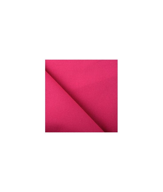 Tissu uni framboise.