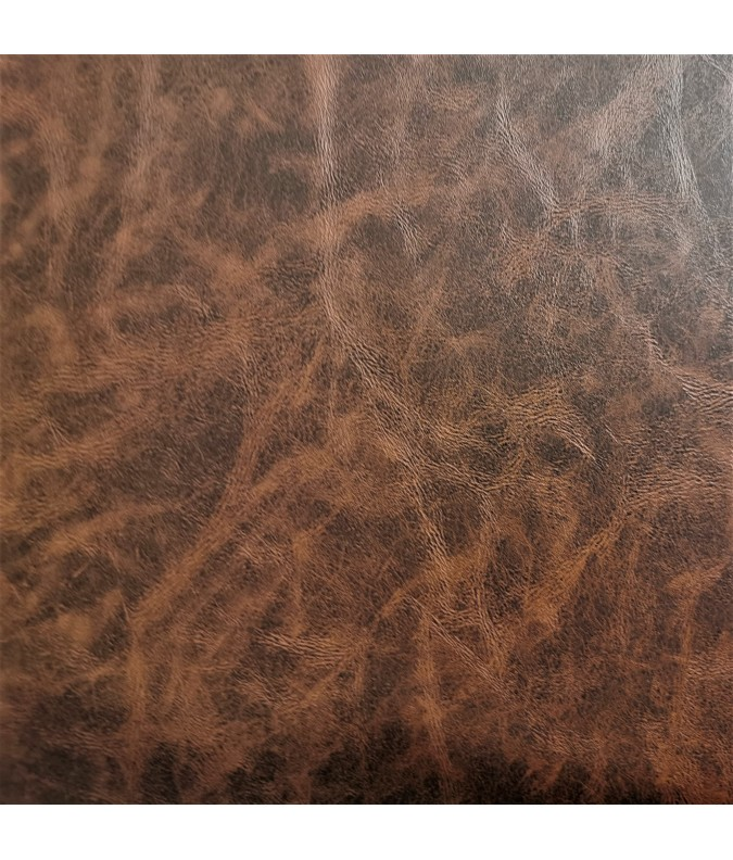 Simli cuir vieilli marron