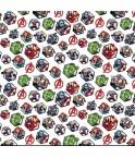 Avengers hexagone - coton 150
