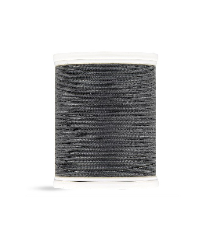 Fil polyester 500m gris anthracite