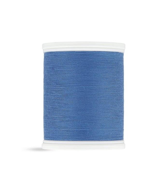 Fil polyester 500m bleu roi