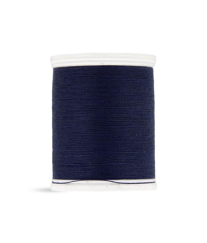 Fil polyester 500m bleu nuit