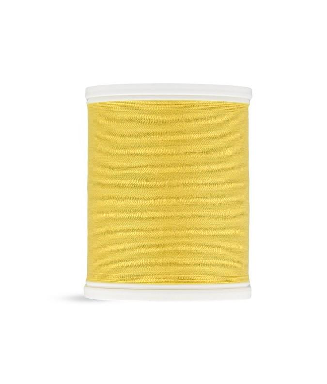 Fil polyester 500m jaune